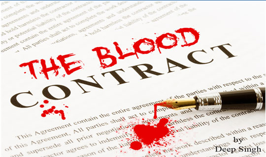 The Blood Contract